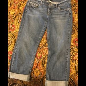 White House Black Market Crop Leg Jeans Sizr 8
